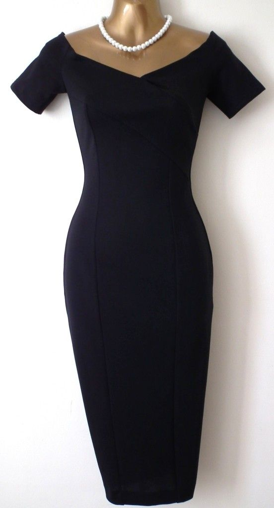Pinup Fashion: Black Mad Men style dress