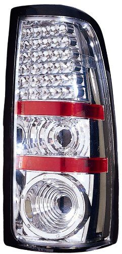 Depo 3351916PXASV Chrome Fleetside LED Tail Light Assembly ** More info could be found at the image url.