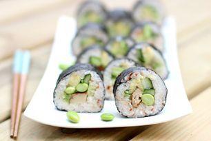Sushi met Gember & Gerookte Tofu