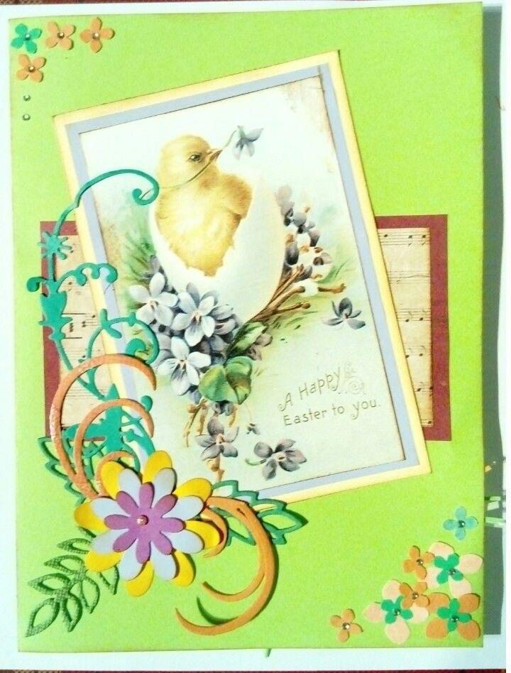 Easter scrapbooking