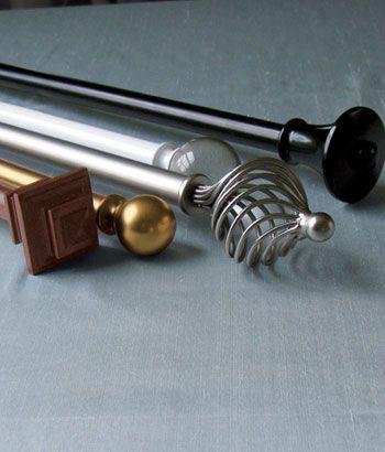 Sheffield Adjustable Rod & Brackets