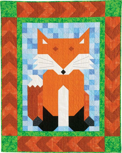 Quiltmaker S Patch Pals Collection Includes Sly Patch A