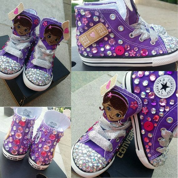 Doc McStuffins Converse by TuTuCutee on Etsy, $90.00
