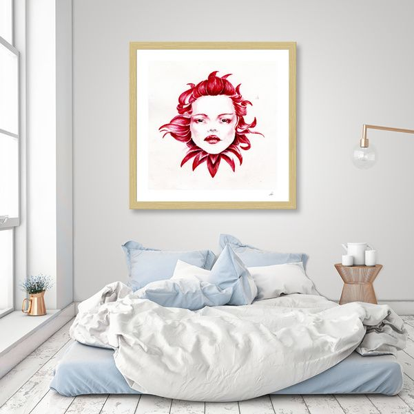 Discover «Daemon Dalia», Limited Edition Fine Art Print by Cristina Stefan - From $39 - Curioos