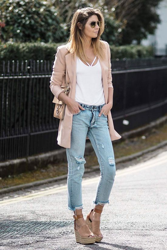 25 Best Ideas About Brown Wedges Outfit On Pinterest