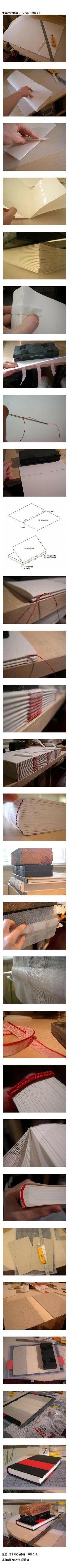 如何做一本书 - 堆糖 发现生活_收集美好_分享图片