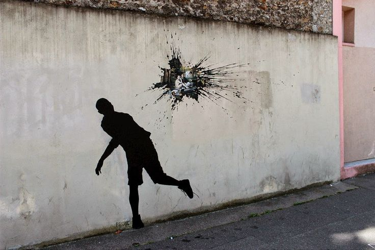 Pejac - Paris #ravenectar #streetart #art #graffiti