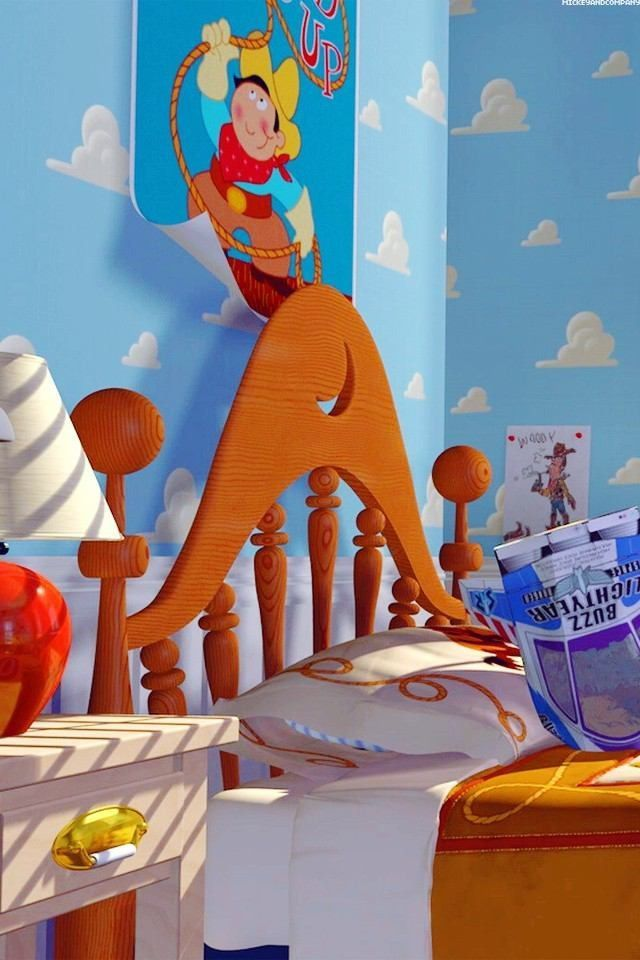 La Cama De Andy De Toy Story Andy Cama De La Story Toy Toy Story Movie Toy Story Halloween Disney Toys