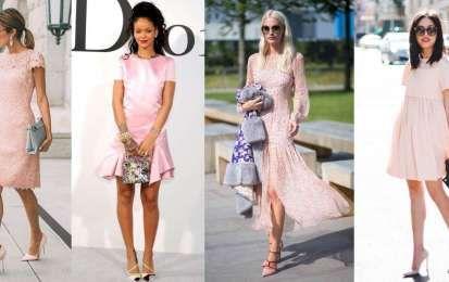 Come abbinare un vestito rosa cipria - Come abbinare un vestito rosa cipria