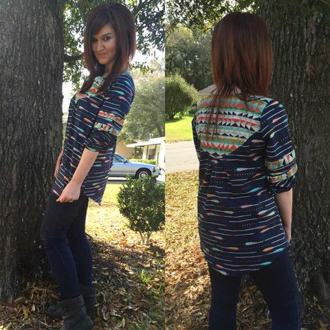 Women's Wanderer Tunic - Tester Round-Up - Striped Swallow Designs