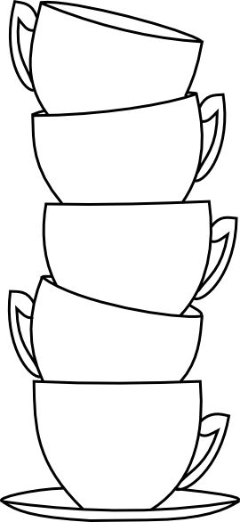 coffee mug coloring page - 741 best adult colouring coffee tea cakes images on