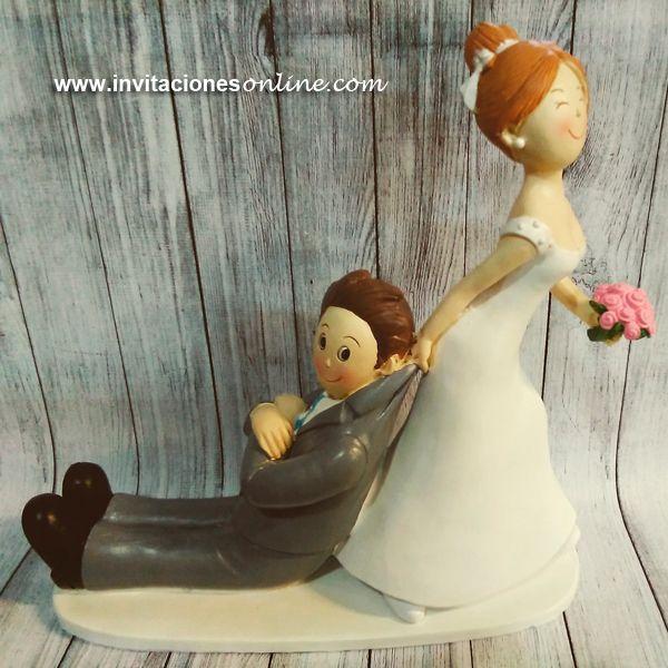 figura novios pastel * novios tarta * novios pastel * bodas barcelona * complementos boda