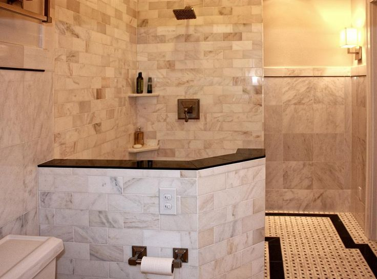 cute tile shower ideas for small bathrooms selection