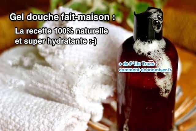 Comment faire du gel douche maison ?