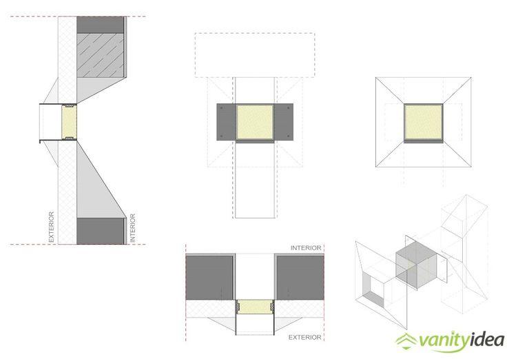interior and exterior sketch