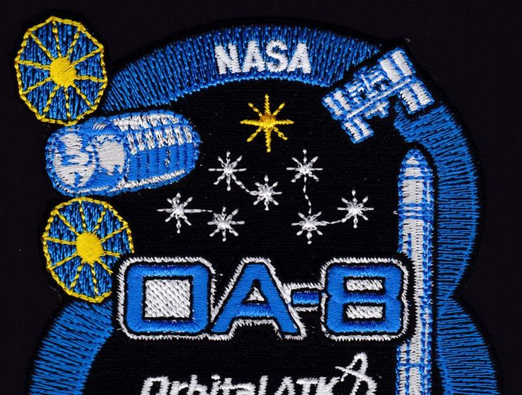 NEW OA-8 - ORBITAL ATK ORIGINAL - ANTARES Launch ISS NASA RESUPPLY Mission PATCH