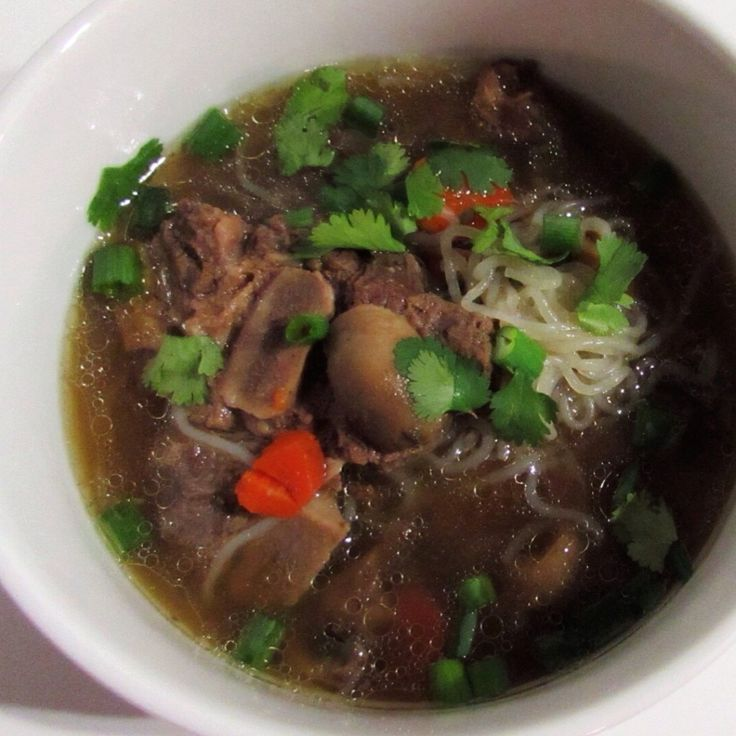 So, they tell me spring is just around the corner. As I look out my window at the snow piles, I know I still have lots of time to enjoy a nice big bowl of Beef Neck Bone Noodle Soup. I'd be lying ...
