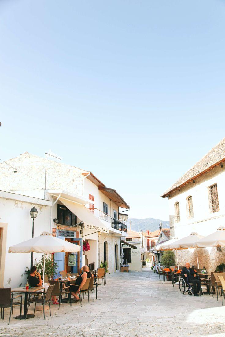 Cyprus, Omodos village