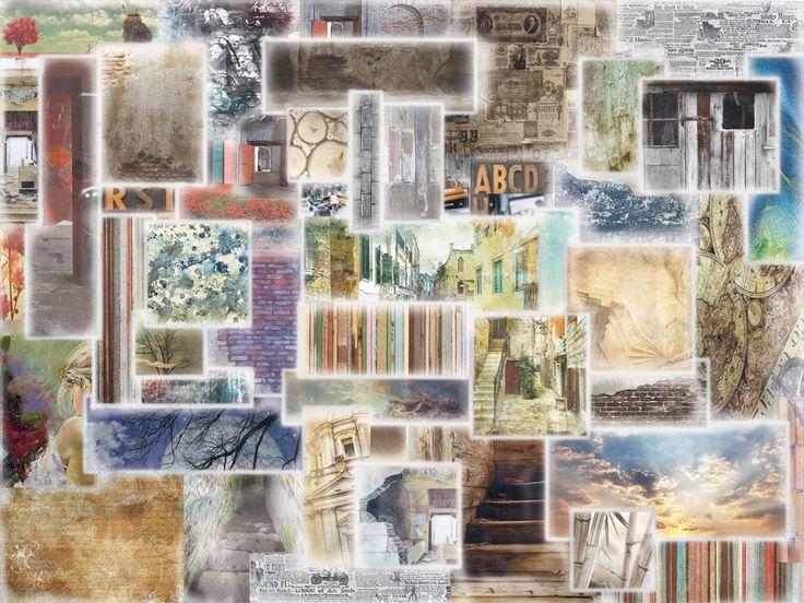 Carta da parati a motivi adesiva in tessuto in stile moderno WINDOWS by MyCollection.it design MyCollection