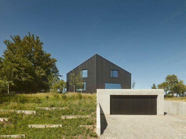 Die 211 besten Bilder zu Haus am Hang auf Pinterest | Bauhaus ...