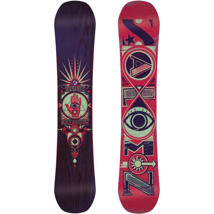 Salomon Snowboards Gypsy Snowboard - Womens | Backcountry.com