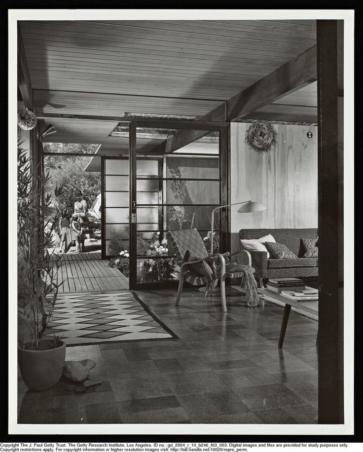 Shulman julius 1910 2009 weston house la ca ada ca for Residential architects eugene oregon
