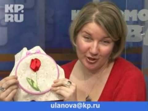 Тютелька в тютельку: Тюльпан в подарок на 8 Марта - YouTube
