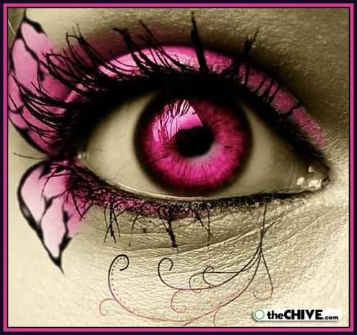 If this was pink eye....everyone would love to catch it