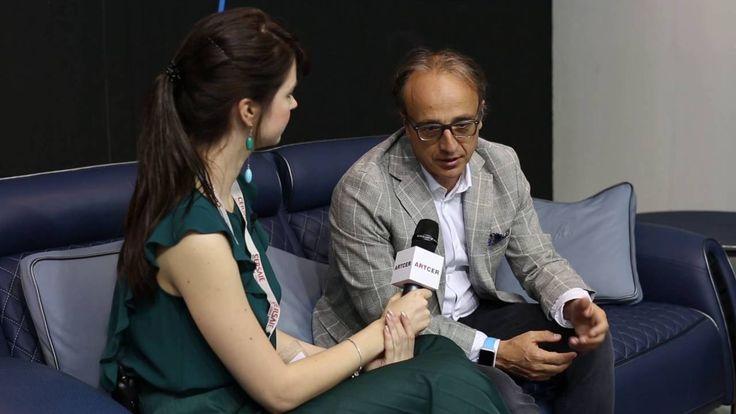 На #Cersaie2016 журнал ARTCER взял интервью у вице-президента по маркетингу и продажам Tonino Lamborghini Tommaso Pozzi, который рассказал об идее возникновения проекта, сотрудничестве с фабрикой #Gambarelli, роли цвета в дизайне керамики и новинках: #NURBURGRING и #Estoril.  #artcermagazine #design #интерьер #журнал #ceramica #tile #керамическаяплитка #дизайн #стиль #Болонья #выставка #интервью #видеоинтервью #новинки #ToninoLamborghini