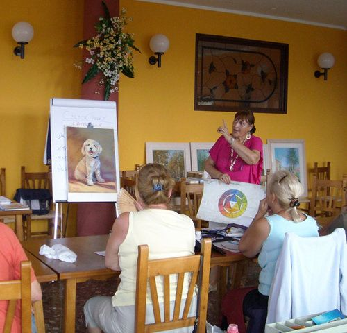 Unexpected Opportunity Leads to Online Teaching | Artsy Shark