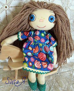 ΥΠΕΡΟΧΕΣ ΔΗΜΙΟΥΡΓΙΕΣ: Маринка - игровая куколка