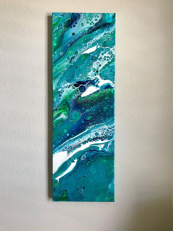 Seascape Painting Absract Seascape Abstract Ocean Acrylic