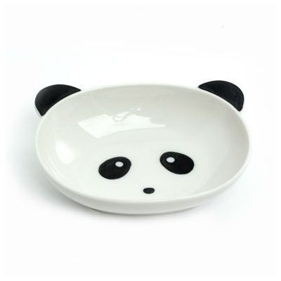 Panda face bowl, $16.50 from the home section of www.pandathings.com