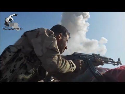 IRAQUE - Combate na linha de frente no campo de petróleo de Alas