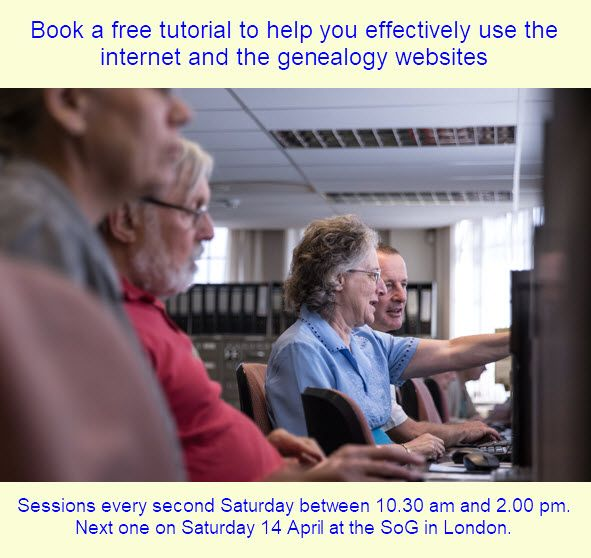 If you're researching your family history, you've probably discovered websites offering lots of information. It's a good idea to know how to use these websites, especially the best ways to search their vast databases. Our tutor can show you, help you understand what is available online, and give advice on any other online issues you might have.