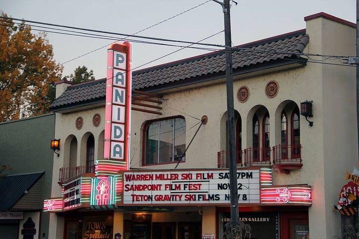 The Panida Theater in Sandpoint, Idaho