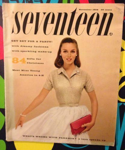 Мagazine Fashion 17 Only Sweet Girls: Pin On 1950's Teenagers