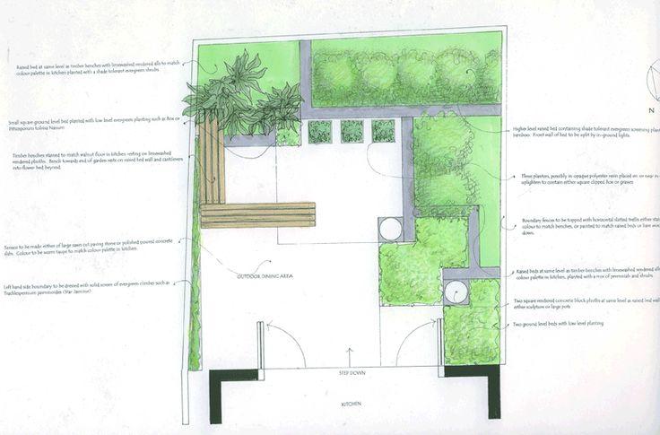 Chic little courtyard   Charlotte Rowe Garden Design 5m x 5m courtyard