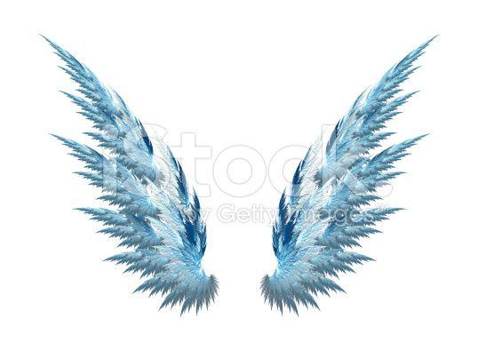 Asas de Anjo Azul fundo branco vetor e ilustração royalty-free ...                                                                                                                                                                                 Mais