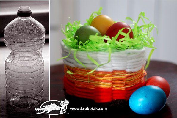 plastic bottle basket