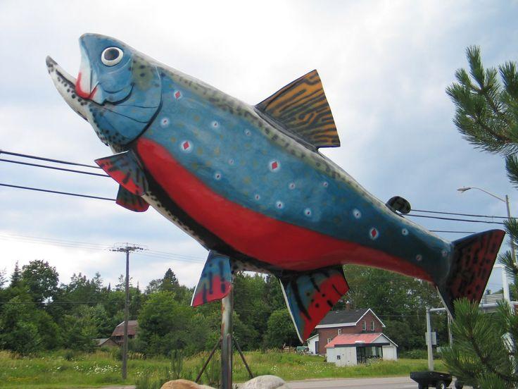 """""""Big Stupid Fish"""" -- Sault Ste. Marie, Ontario"""