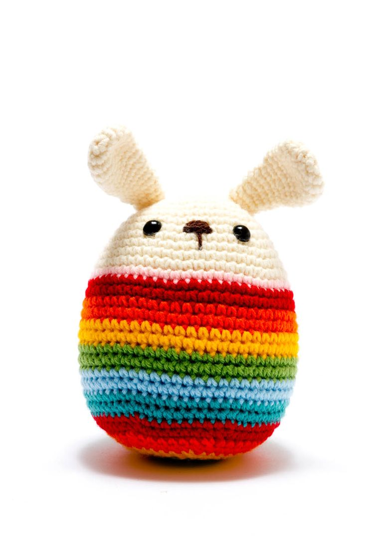 This is a new style of crochet for us and one which we haven't tried before. Its much chunkier than our normal toys but it suits this bunny. A good one for Easter!