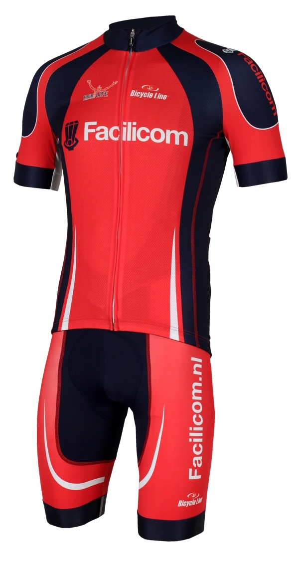 Bicycle Line cycling wear/apparel for teams