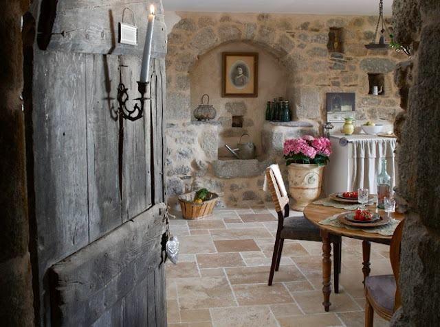 Una cucina in campagna.....