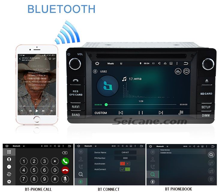 Bluetooth OEM 2012 Mitsubishi Outlander Android 5.1.1 Radio DVD Player GPS Navigation System with Bluetooth 3G Wifi DVR OBD2 DAB+ Steeing Wheel Control Backup Camera Mirror Link