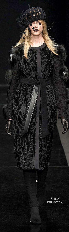 Emanuel Ungaro FW2015 Women's Fashion RTW | Purely Inspiration