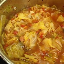 Cabbage Fat-Burning Soup- I would recommend NOT making alterations to this soup because the purpose of the set recipe is to lose weight. I did lose weight when I made this (it was for a vacation), and it tasted great!! I checked with a local hospital, and they said this recipe is used for overweight patients to get them to lose weight rapidly to prepare for surgery
