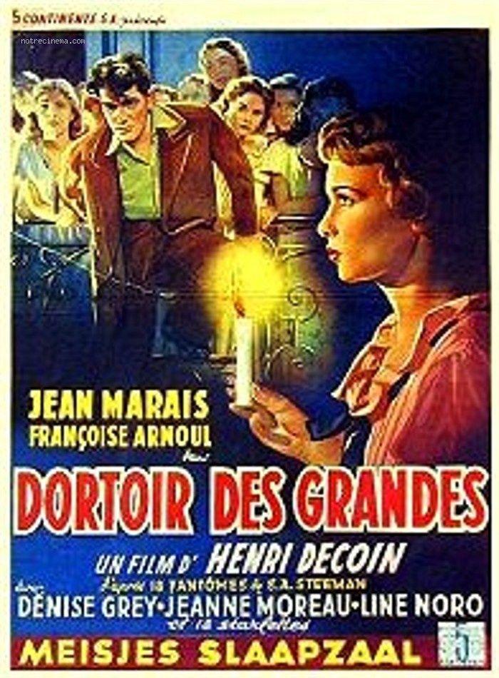 Dortoir des grandes est un film français réalisé par Henri Decoin en 1953. Alors qu'il enquête sur le meurtre d'une élève d'un pensionnat, l'inspecteur Marco découvre, grâce à une vidéo amateur, que celle-ci exerçait un chantage sur quelqu'un d'autre.