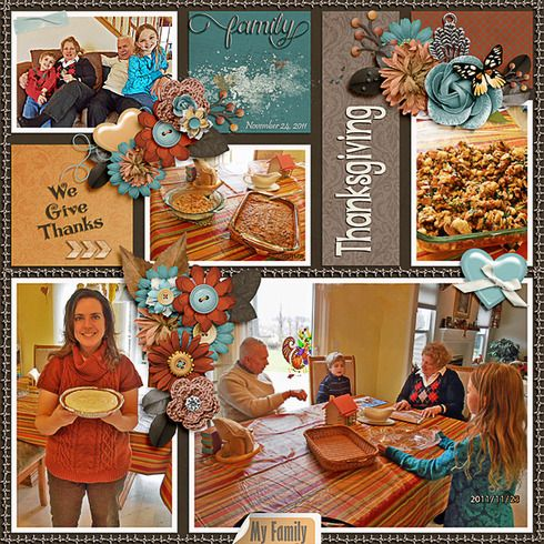 Credits: Template: Amazing year - November 2, Tinci Designs Kit: GingerBread Ladies Monthly Mix: Falling For Family, GingerBread Ladies Collab Font Used: Curly Stars, Pristina, and DJB Play Misty for Me
