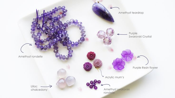 Purple Beads: Color